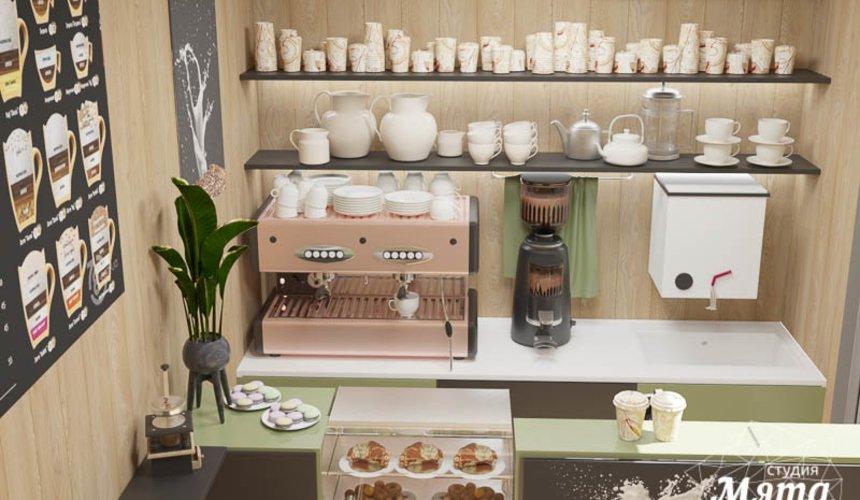 Дизайн интерьера маленькой кофейни по ул. Боровая 19 4