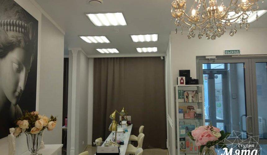Дизайн интерьера и ремонт салона красоты в ЖК Флагман 6