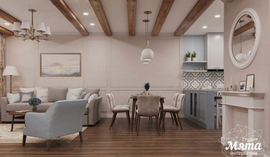 Дизайн интерьера первого этажа таунхауса в п. Палникс 1
