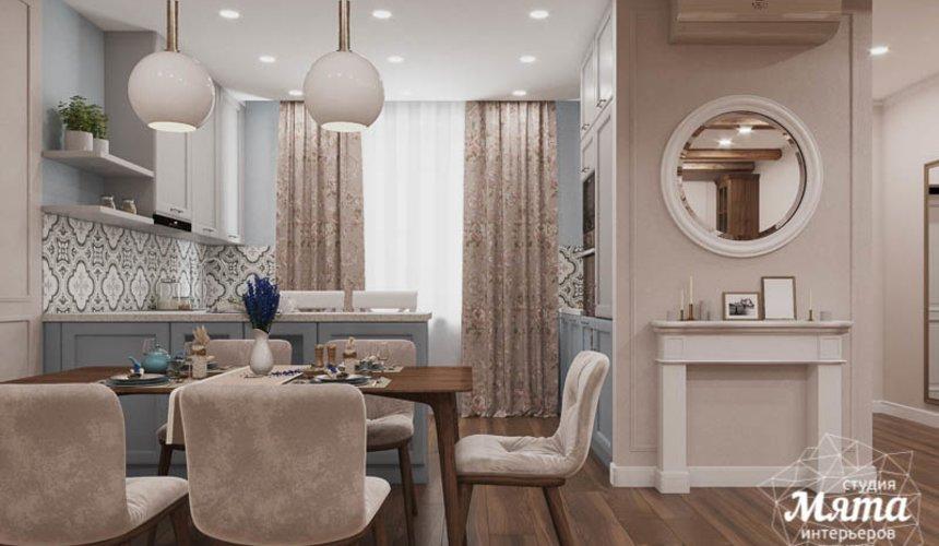 Дизайн интерьера первого этажа таунхауса в п. Палникс 5