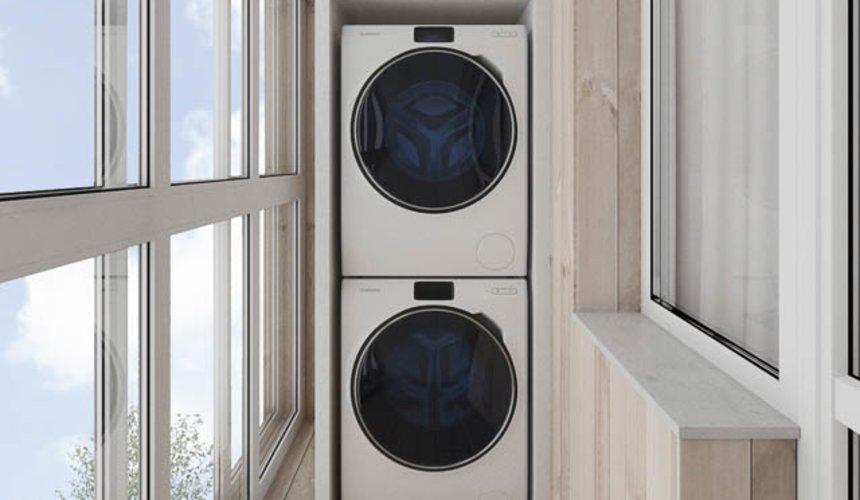 Дизайн интерьера трехкомнатной квартиры в ЖК Дом у пруда ... 19