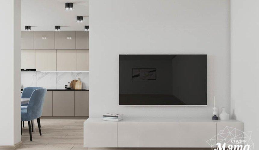 Дизайн интерьера трехкомнатной квартиры в ЖК Дом у пруда ... 3
