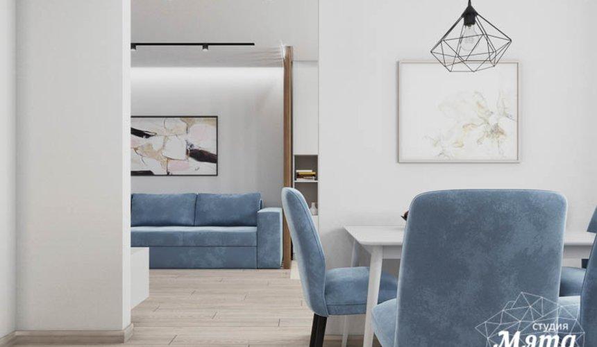 Дизайн интерьера трехкомнатной квартиры в ЖК Дом у пруда ... 8