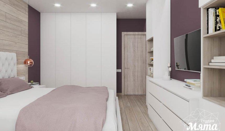 Дизайн интерьера трехкомнатной квартиры в ЖК Дом у пруда ... 18