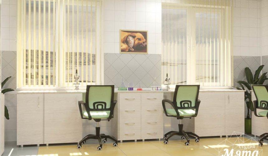 Дизайн интерьера ветеринарной станции г. Екатеринбурга 9