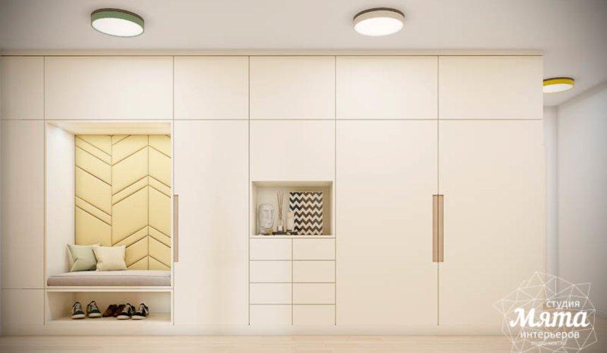 Дизайн интерьера двухкомнатной квартиры в ЖК Лига чемпионов 10