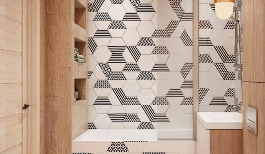 Дизайн интерьера двухкомнатной квартиры в ЖК Лига чемпионов 14