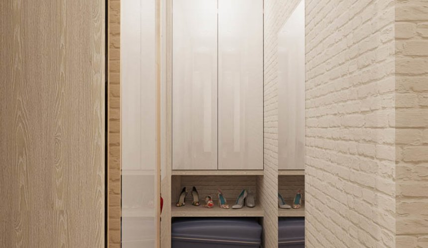 Дизайн интерьера двухкомнатной квартиры по ул. Шаумяна 109 18