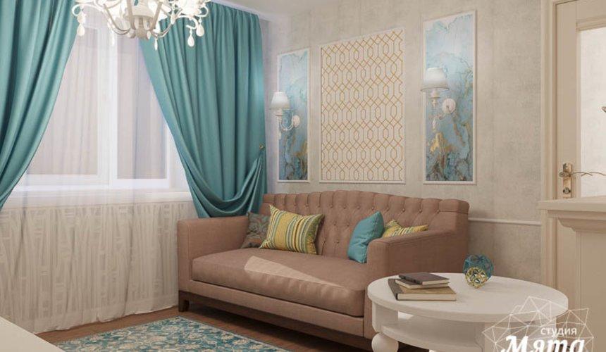 Дизайн интерьера двухкомнатной квартиры по ул. Шаумяна 109 3