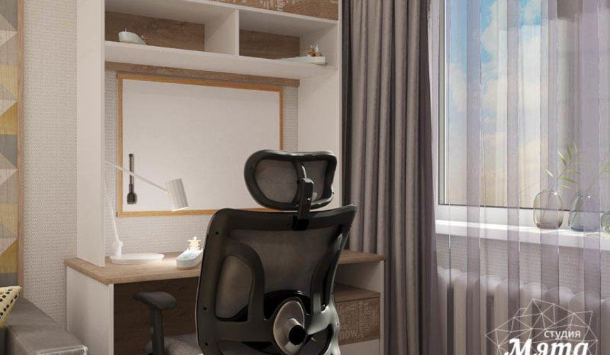Дизайн интерьера двухкомнатной квартиры по ул. Шаумяна 109 23