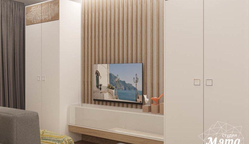 Дизайн интерьера двухкомнатной квартиры по ул. Шаумяна 109 24