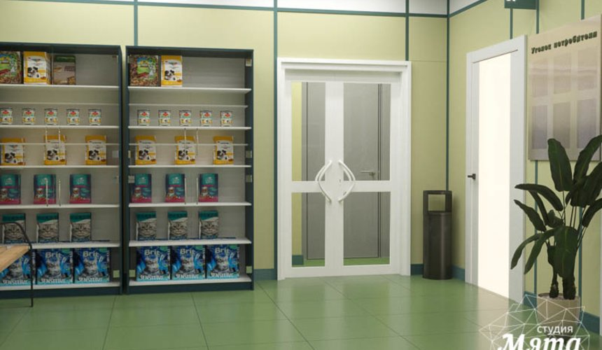 Дизайн интерьера ветеринарной станции г. Екатеринбурга 6