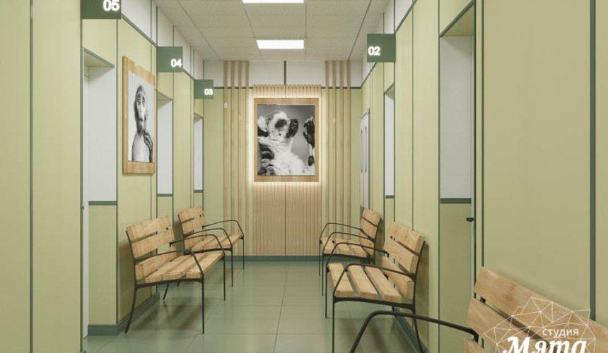 Дизайн интерьера ветеринарной станции г. Екатеринбурга 5