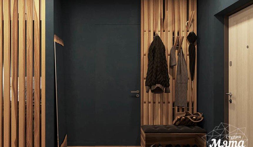 Дизайн интерьера квартиры - студии в ЖК Солнечный 12