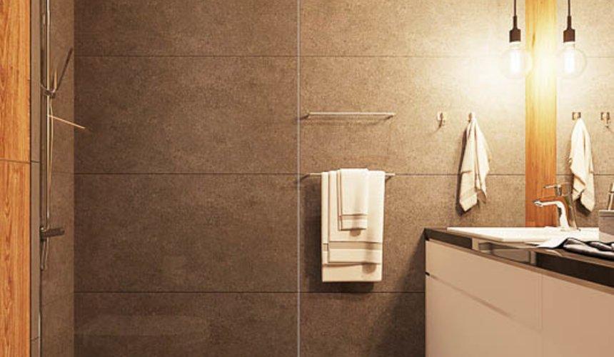 Дизайн интерьера квартиры - студии в ЖК Солнечный 15