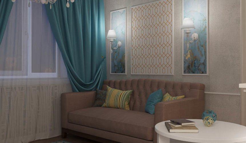 Дизайн интерьера двухкомнатной квартиры по ул. Шаумяна 109 7