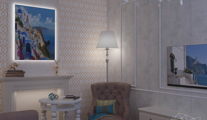 Дизайн интерьера двухкомнатной квартиры по ул. Шаумяна 109 8