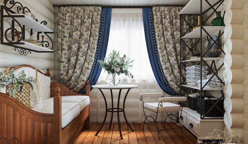 Дизайн интерьера комнаты отдыха в бане с. Косулино 2