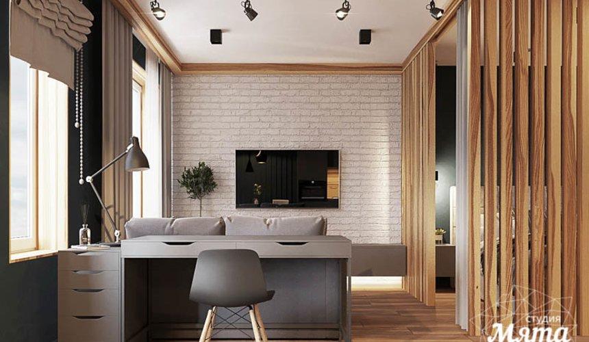 Дизайн интерьера квартиры - студии в ЖК Солнечный 2