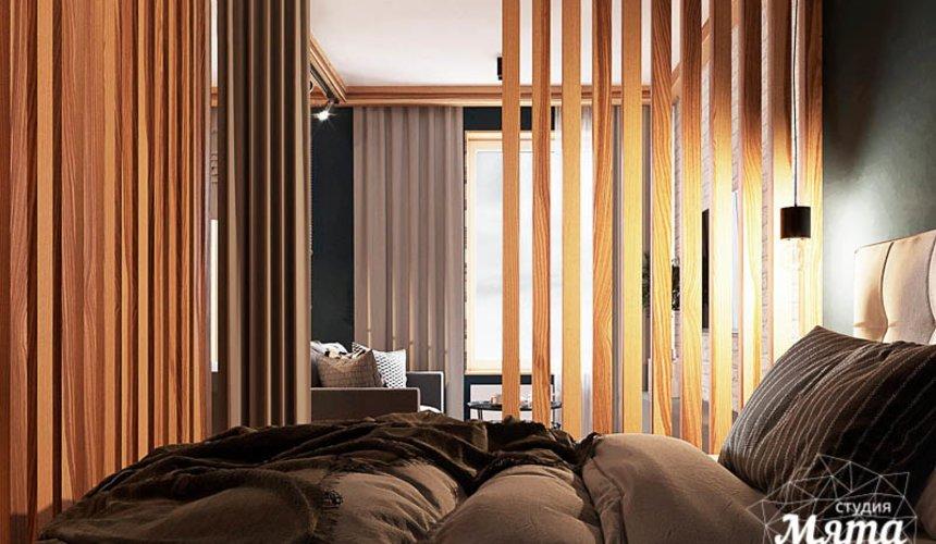 Дизайн интерьера квартиры - студии в ЖК Солнечный 9