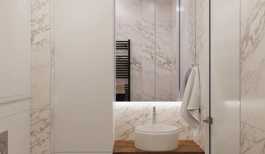 Дизайн интерьера трехкомнатной квартиры в ЖК Чемпион Парк 18