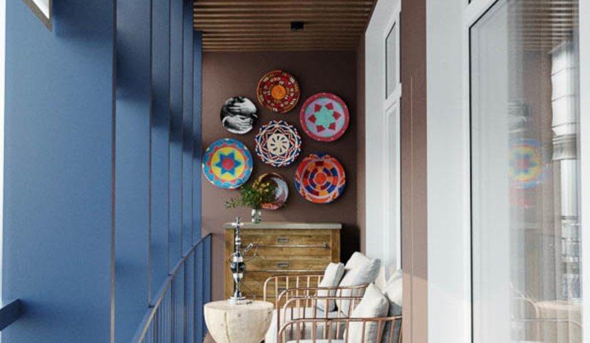 Дизайн интерьера трехкомнатной квартиры в ЖК Чемпион Парк 14