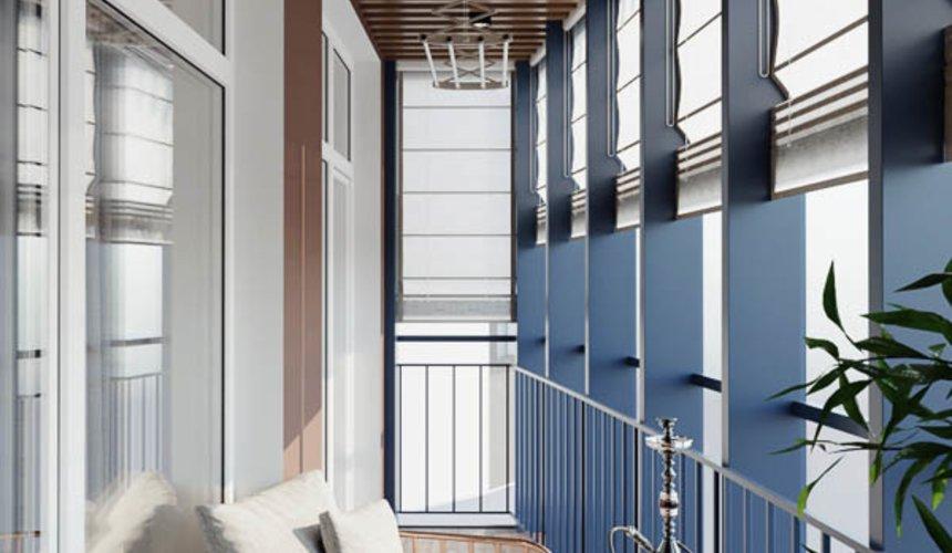 Дизайн интерьера трехкомнатной квартиры в ЖК Чемпион Парк 15