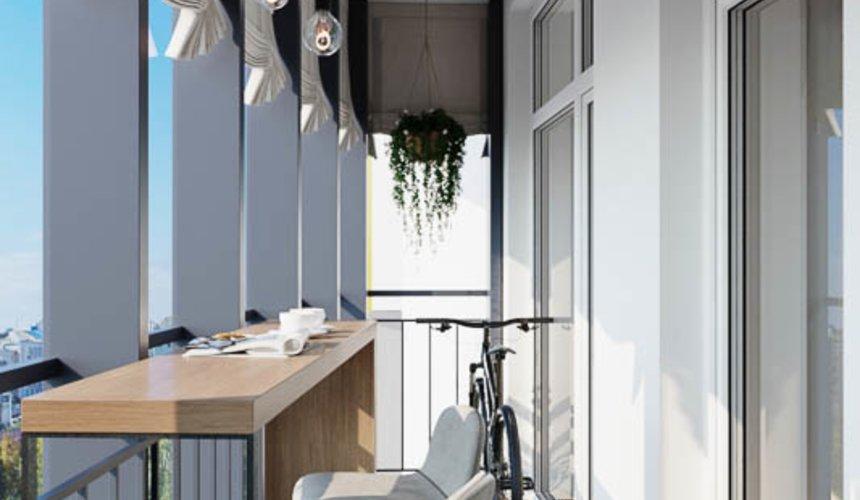 Дизайн интерьера трехкомнатной квартиры в ЖК Чемпион Парк 16