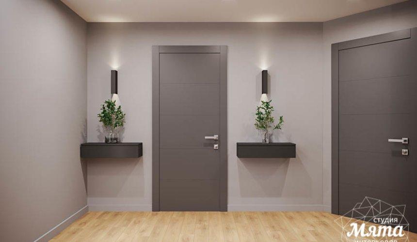 Дизайн интерьера однокомнатной квартиры в ЖК Оазис 8