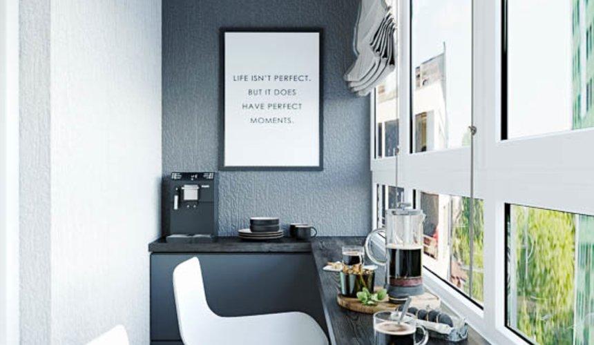Дизайн интерьера однокомнатной квартиры в ЖК Оазис 27