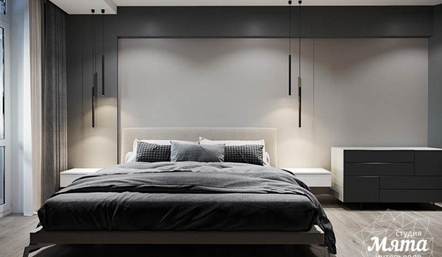 Дизайн интерьера однокомнатной квартиры в ЖК Оазис 17
