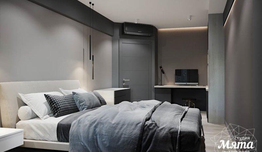 Дизайн интерьера однокомнатной квартиры в ЖК Оазис 19