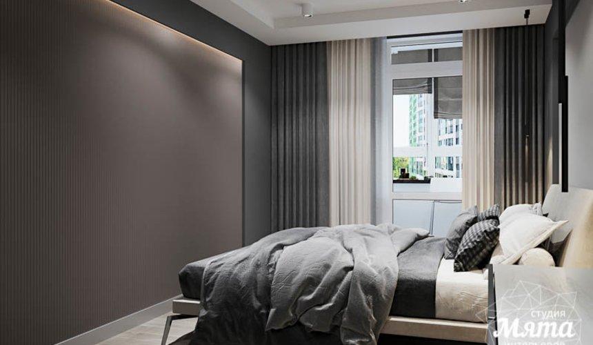 Дизайн интерьера однокомнатной квартиры в ЖК Оазис 20