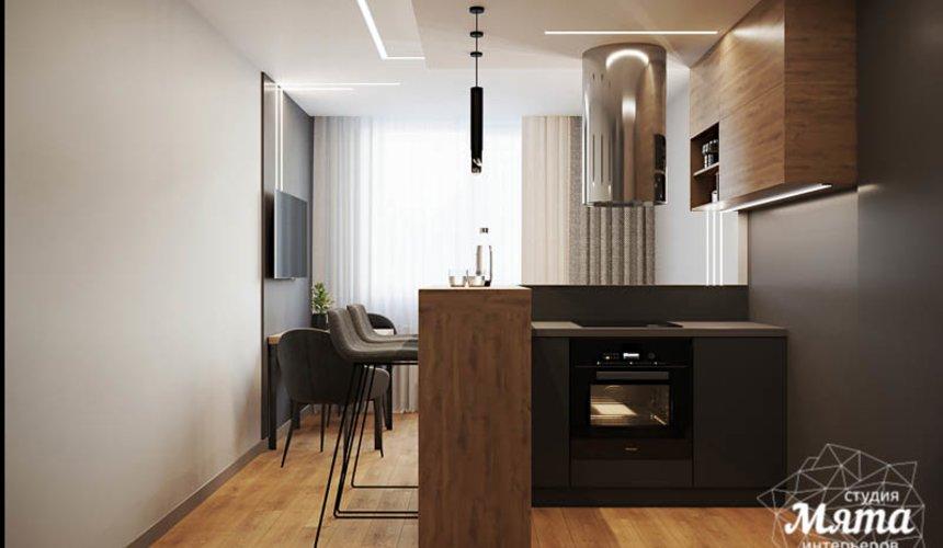 Дизайн интерьера однокомнатной квартиры в ЖК Оазис 6