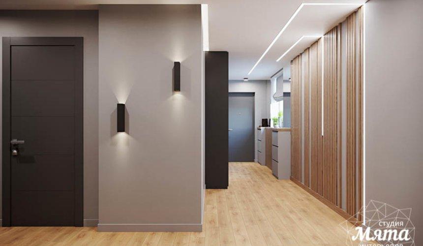 Дизайн интерьера однокомнатной квартиры в ЖК Оазис 9