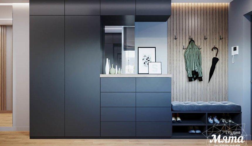 Дизайн интерьера однокомнатной квартиры в ЖК Оазис 12