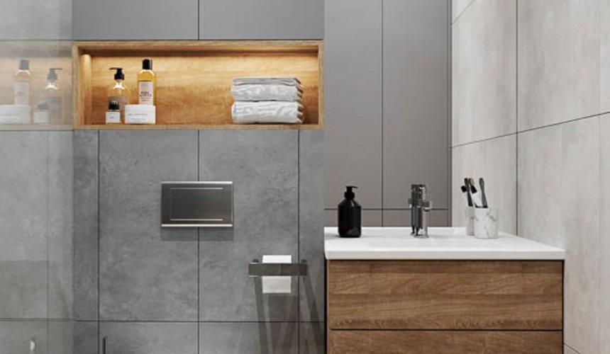 Дизайн интерьера однокомнатной квартиры в ЖК Оазис 34