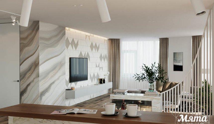 Дизайн интерьера трехкомнатной квартиры в ЖК Чемпион Парк 2