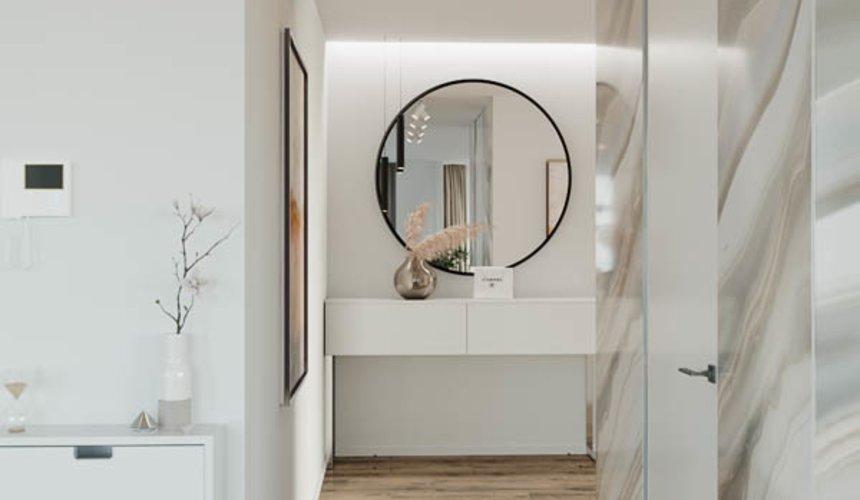 Дизайн интерьера трехкомнатной квартиры в ЖК Чемпион Парк 9