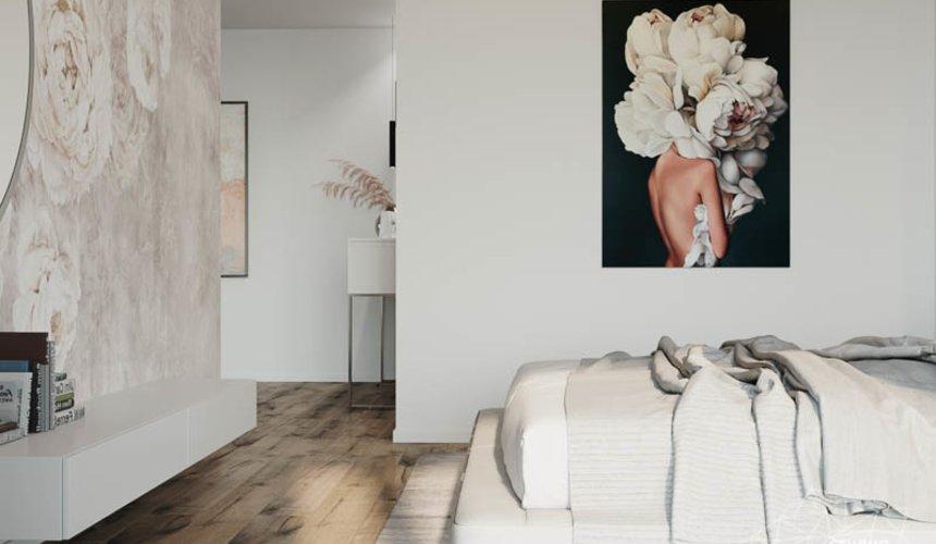 Дизайн интерьера трехкомнатной квартиры в ЖК Чемпион Парк 24