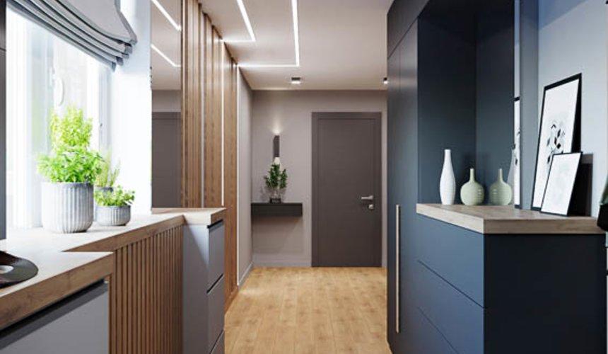 Дизайн интерьера однокомнатной квартиры в ЖК Оазис 15