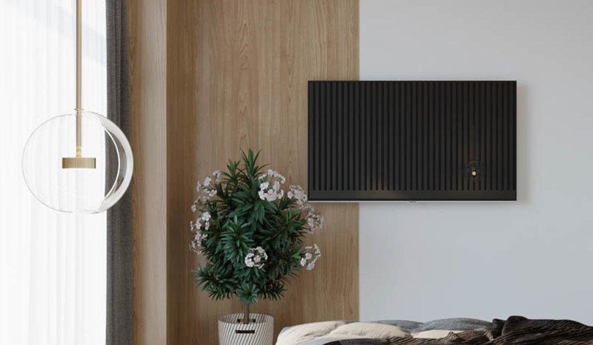 Дизайн интерьера двухкомнатной квартиры в ЖК Чемпион Парк 23