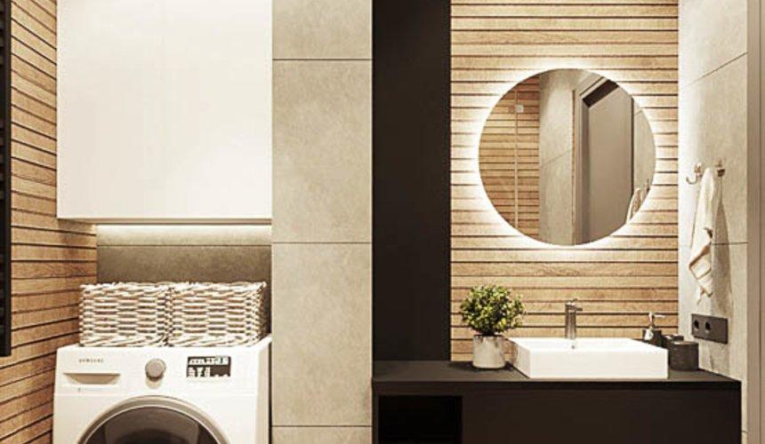 Дизайн интерьера квартиры - студии в ЖК Гринвуд 15
