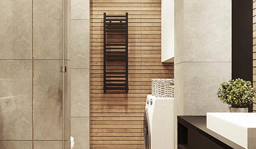 Дизайн интерьера квартиры - студии в ЖК Гринвуд 16