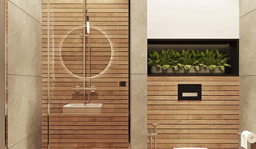 Дизайн интерьера квартиры - студии в ЖК Гринвуд 17