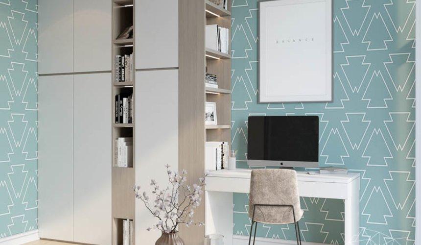 Дизайн интерьера двухкомнатной квартиры в ЖК Чемпион Парк 16