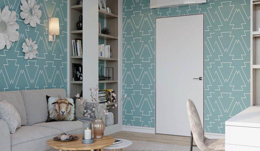 Дизайн интерьера двухкомнатной квартиры в ЖК Чемпион Парк 18