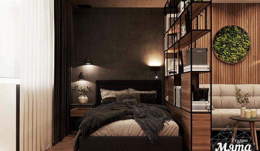 Дизайн интерьера квартиры - студии в ЖК Гринвуд 3