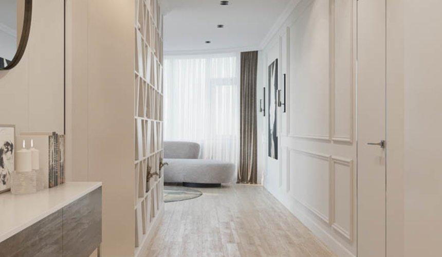 Дизайн интерьера двухкомнатной квартиры в ЖК Чемпион Парк 10