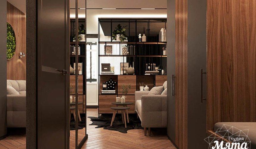 Дизайн интерьера квартиры - студии в ЖК Гринвуд 10